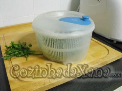 Os legumes - congelação e acondicionamento