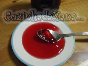 Geleia de romã