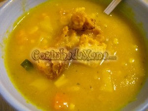 Sopa de curgete