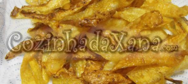 Snacks de casca de batata