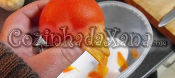Dicas - Como pelar tomate facilmente