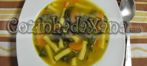 Sopa de grelos de couve