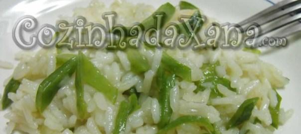Como fazer Arroz de feijão-verde
