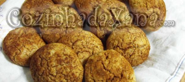 Biscoitos de canela