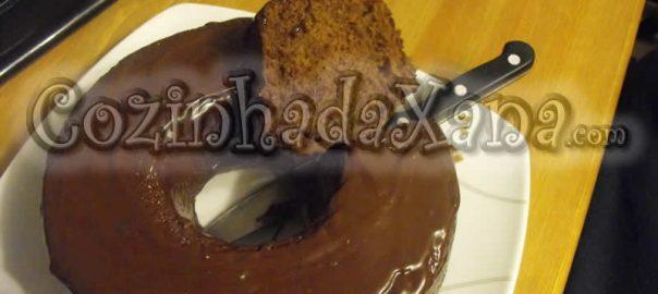 Bolo de chocolate (vegan)