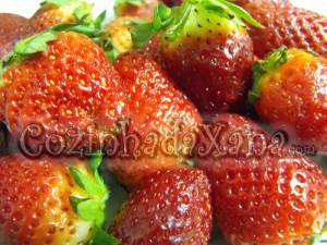Molho de morango (coulis)