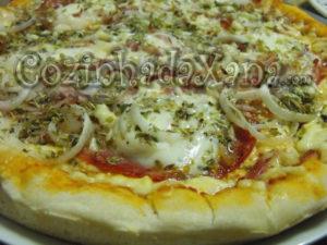 Pizza camponesa