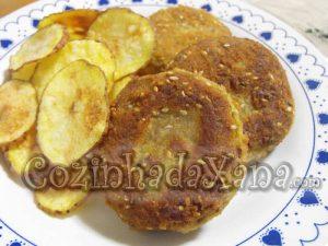 Bolinhos de carne com batata