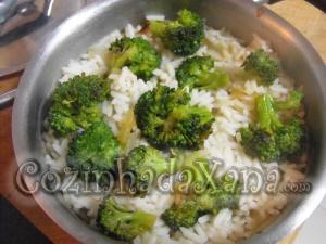 Como fazer Arroz de brócolos