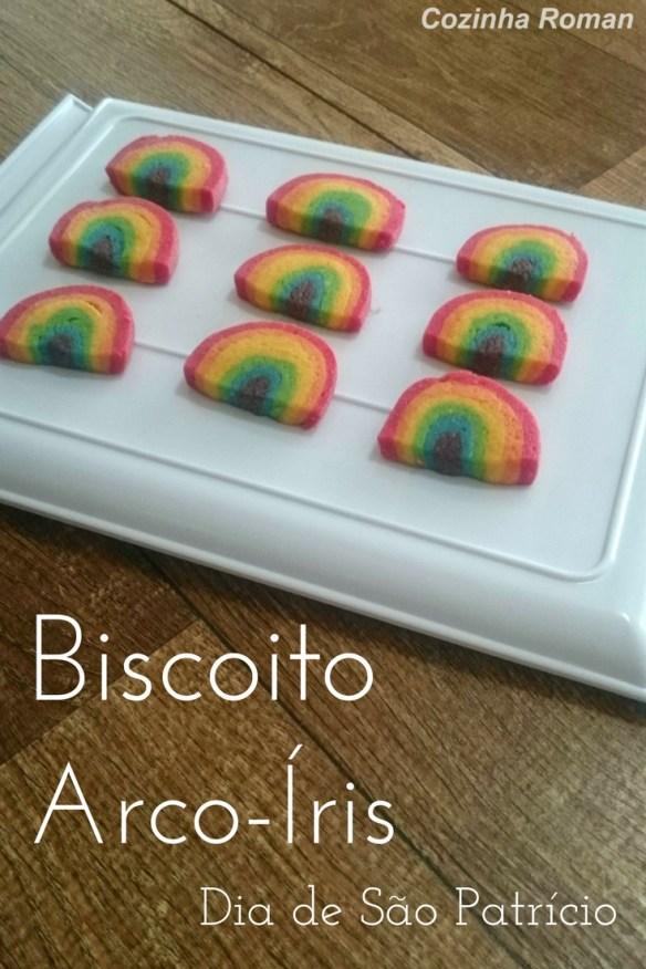 biscoitos arco-íris