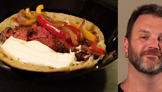 Fajita do Ogrostronomia por Jimmy McManis