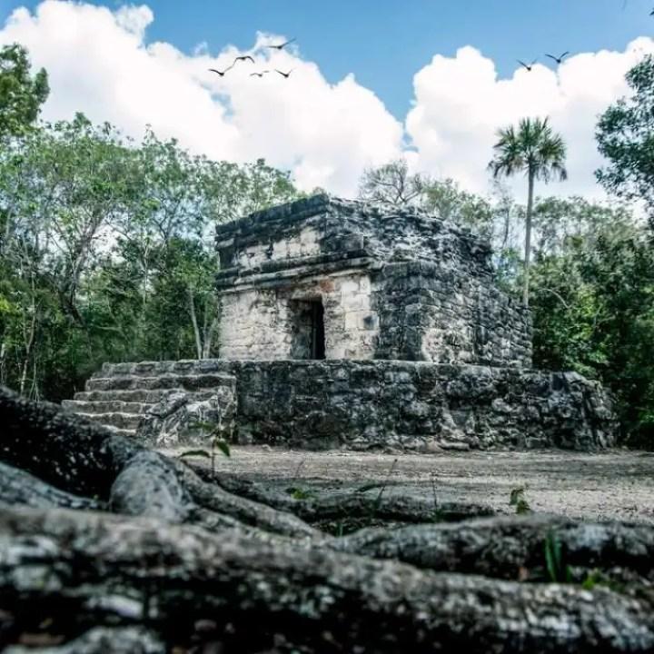 Cozumel Parks San Gervasio Ruins