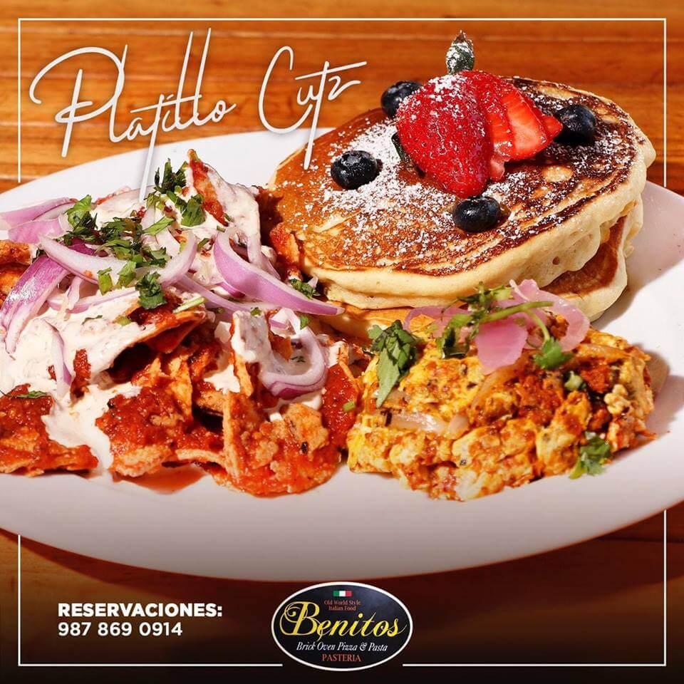 Cozumel My Cozumel Benitos Breakfast Plate