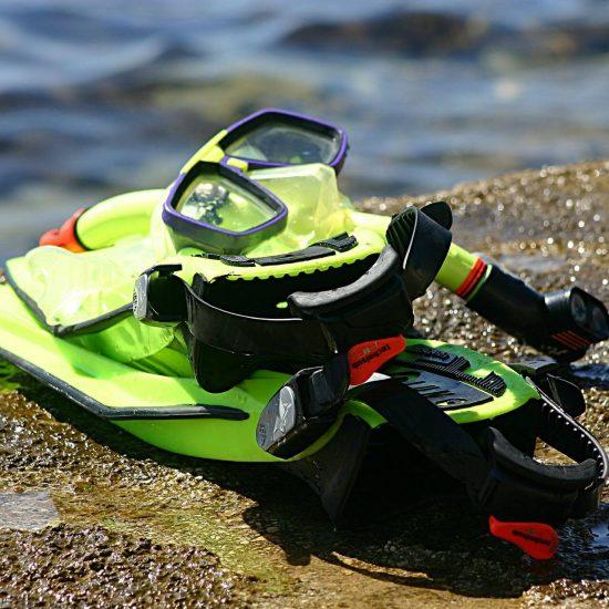 Cozumel snorkel gear