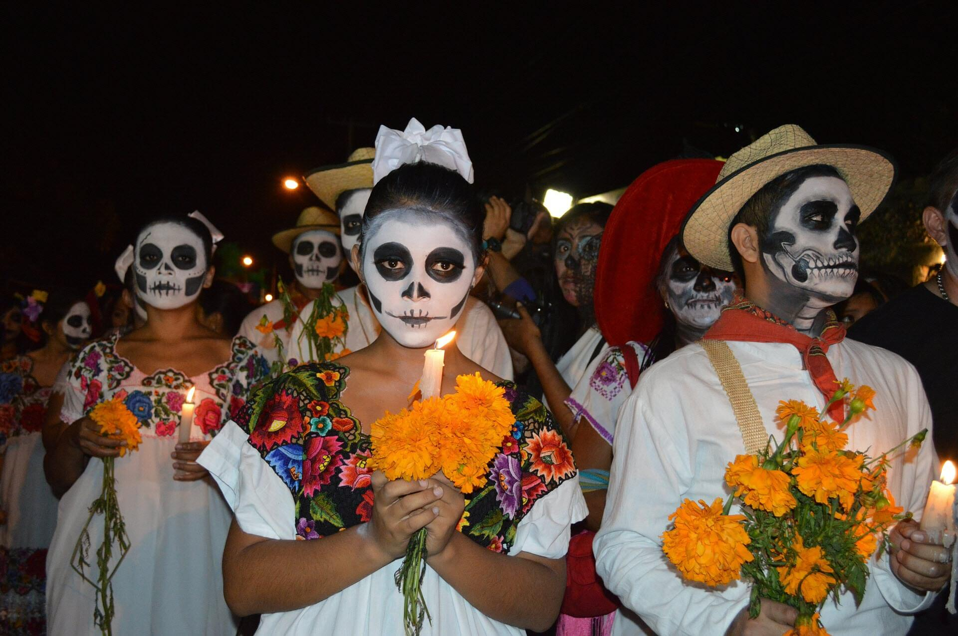 Cozumel My Cozumel Day of the dead parade