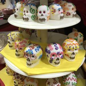 Cozumel My Cozumel day of the dead display