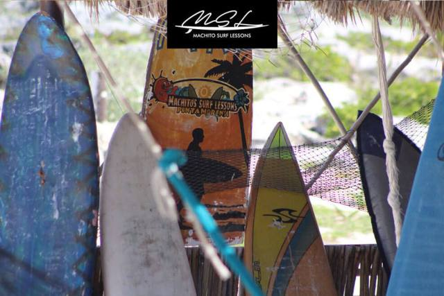 Cozumel My Cozumel surf lessons equipment