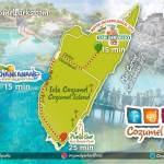 Cozumel My Cozumel Parks map