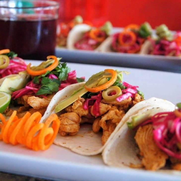 La Rumba Cozumel taco plate