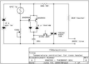 Simple Thermistor Schematic, Simple, Free Engine Image For