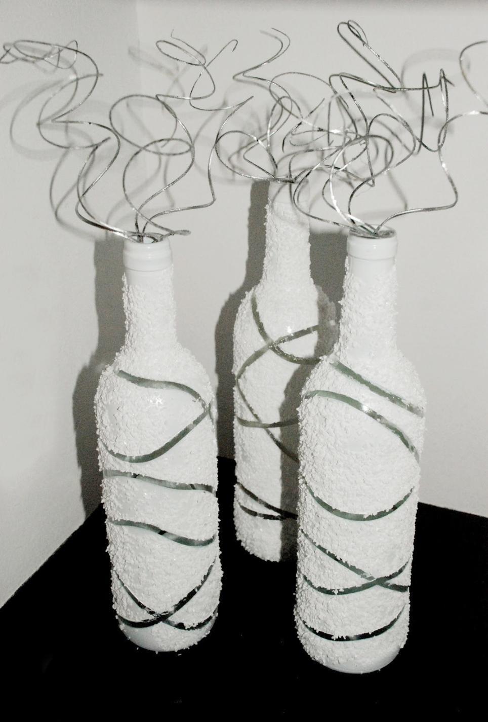 Reka bentuk yang luar biasa botol putih