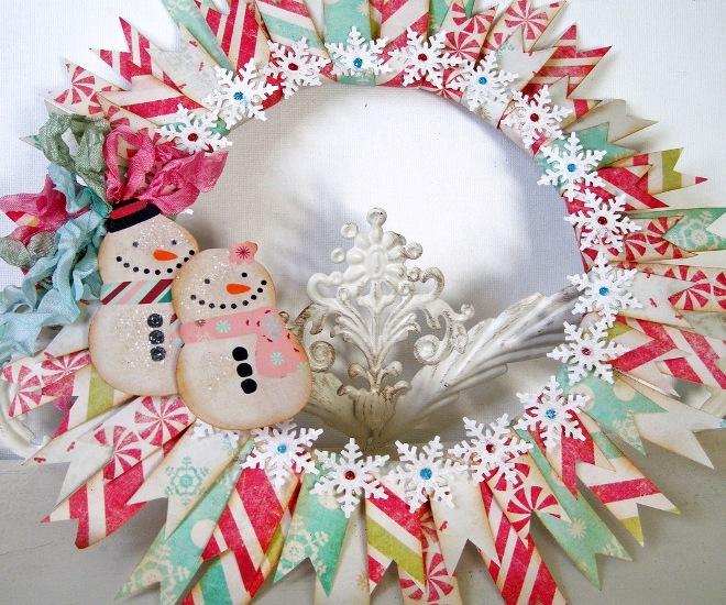 نقوش کریسمس کاغذ