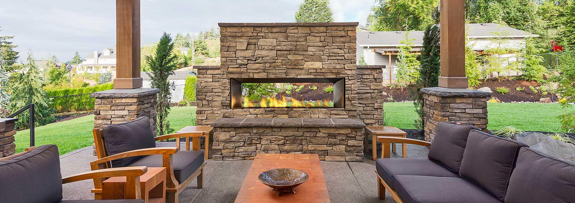Regency Horizon HZO60 Outdoor Gas Fireplace   Toronto Best ... on Outdoor Gas Fireplace For Deck id=52471