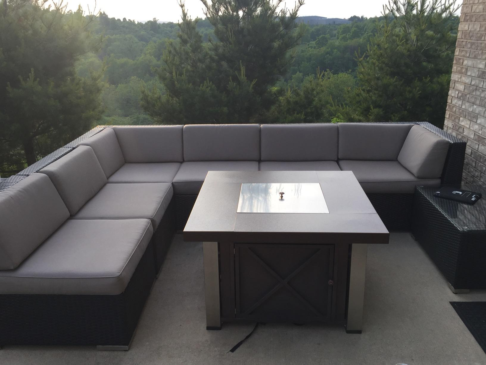 Review ohana 7 piece outdoor furniture sectional sofa