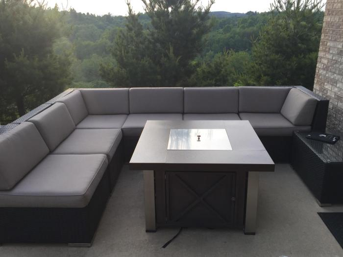 Review Ohana Collection 7 Piece Outdoor Furniture Sofa