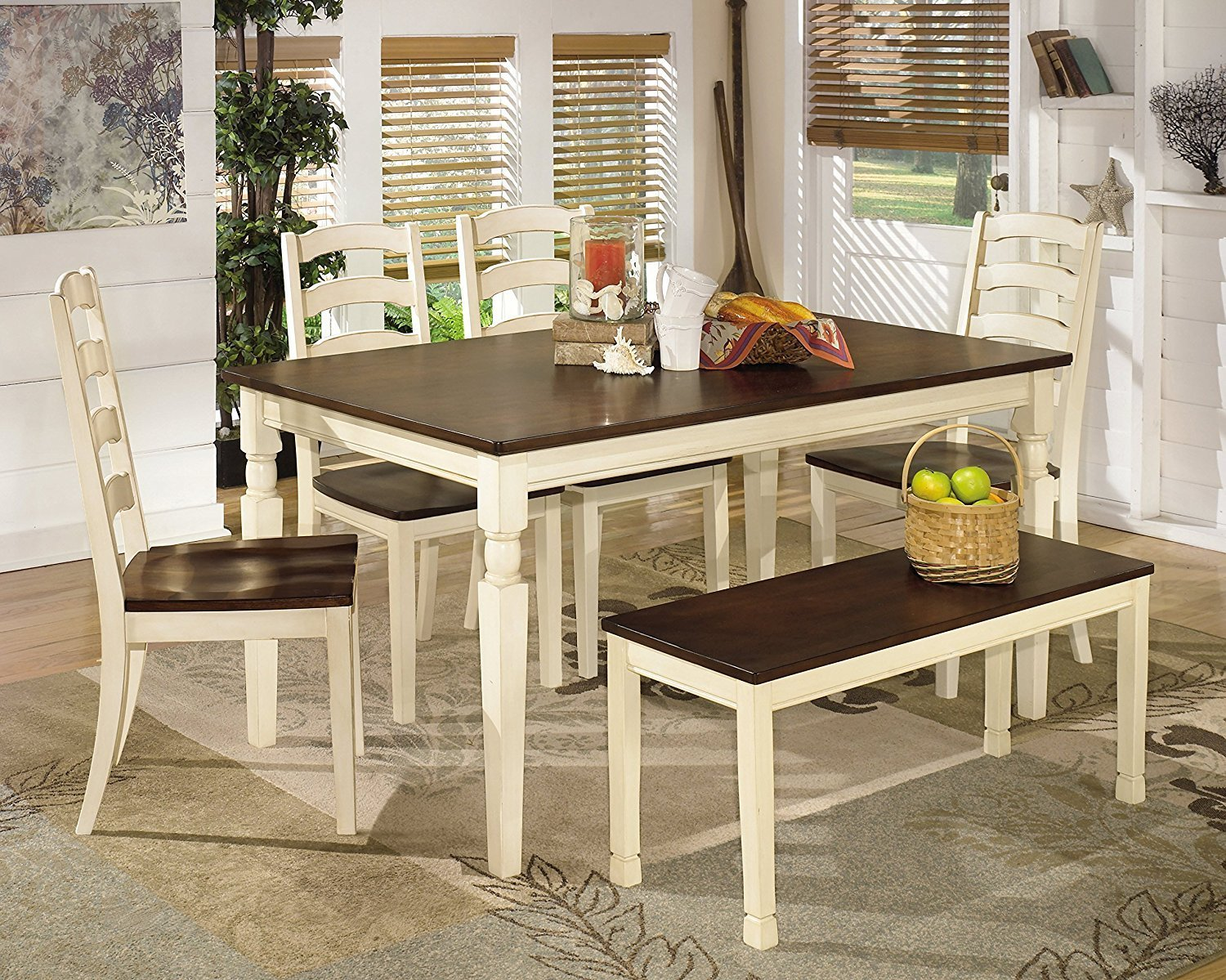 Review Ashley Furniture Whitesburg 6 Piece Dining Room Set