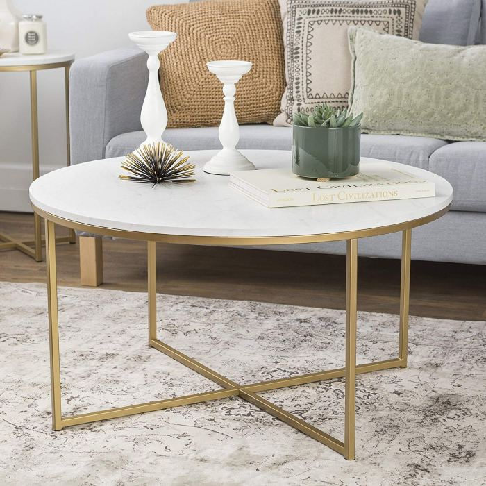 15 Best Selling White Coffee Tables for Small Apartments on ...