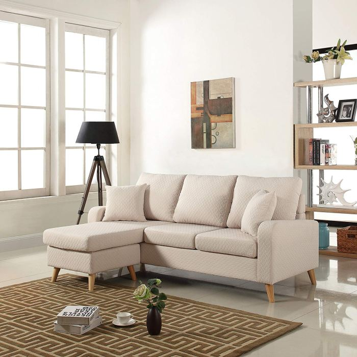8 Extremely Affordable Sectional Sofas For Studios