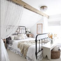 144 Farmhouse Style Decorating Ideas and Tips to Bring Comfort and Nostalgia to Your Master Bedroom