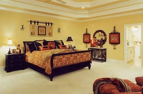Asian Themed Bedroom Design