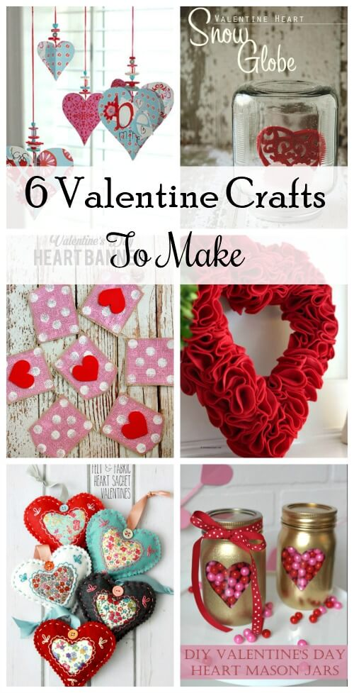 6 Fun Valentines Crafts To Make Cozy Little House