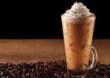 posed iced coffee