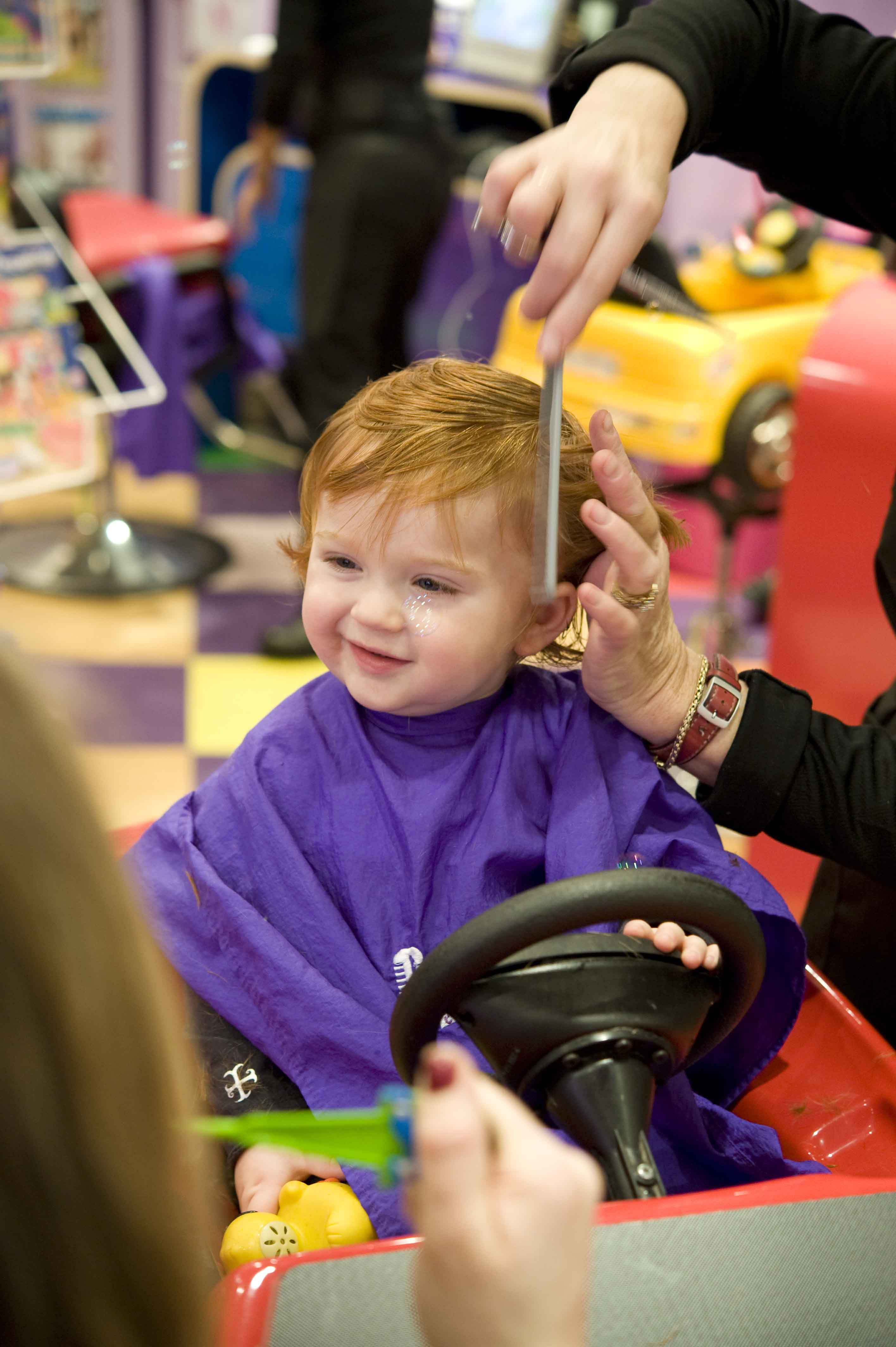 Tips For Your Child S First Haircut