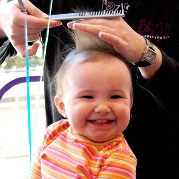 Tips For Your Childs First Haircut
