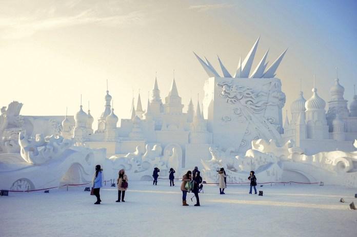 фестивали льда и снега