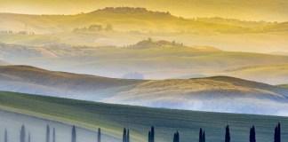 Пейзажи Тосканы