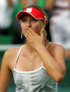 マリア・シャラポワ   テニス選手