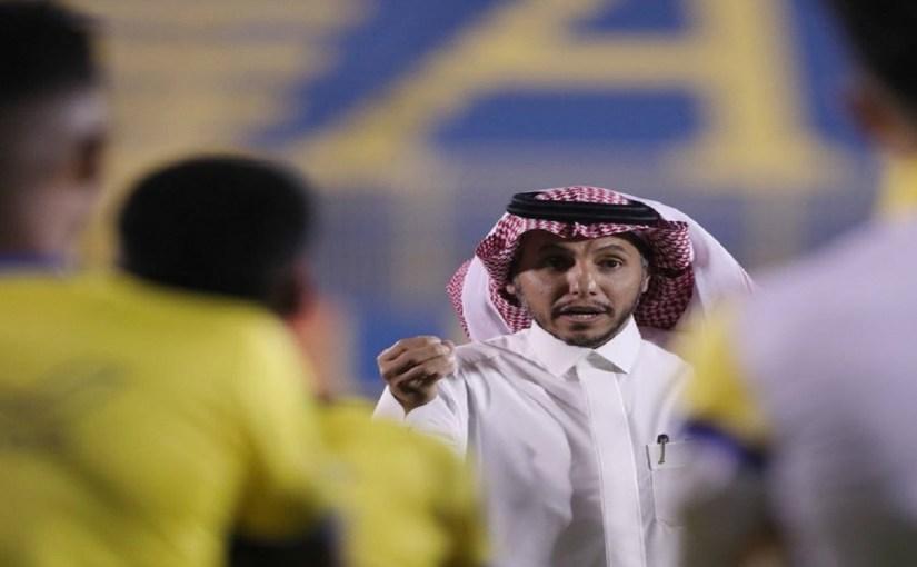 رئيس النصر يستنفر اللاعبين قبيل موقعة الهلال
