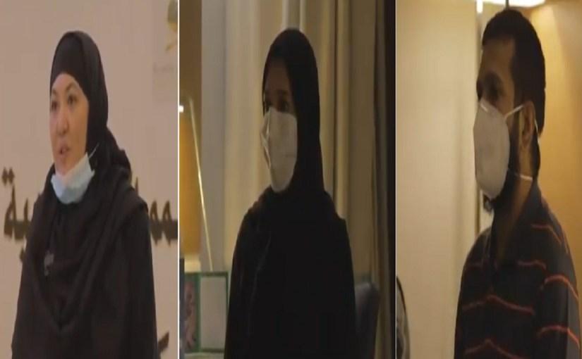 """بالفيديو.. حجاج يوجهون كلمة شكر لـ """"الملك سلمان"""":""""بارك الله في السعوديين قيادة وشعباً"""""""