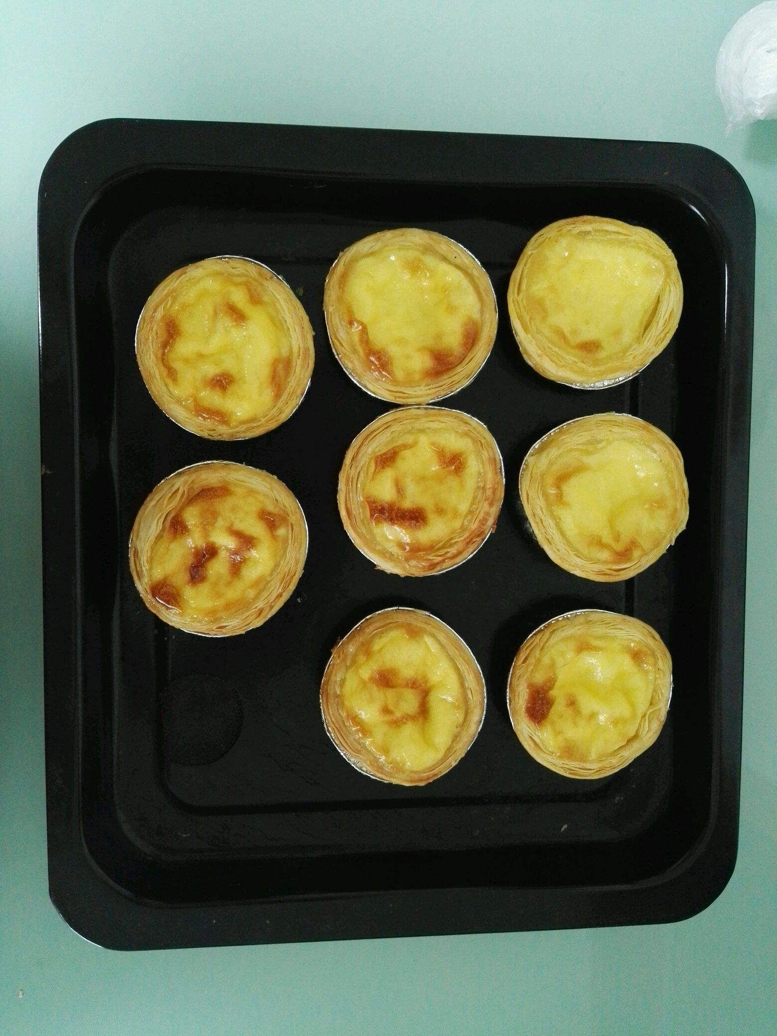 烤箱版葡式蛋撻的做法_【圖解】烤箱版葡式蛋撻怎么做如何做好吃_烤箱版葡式蛋撻家常做法大全_劉小豆兒_豆果美食