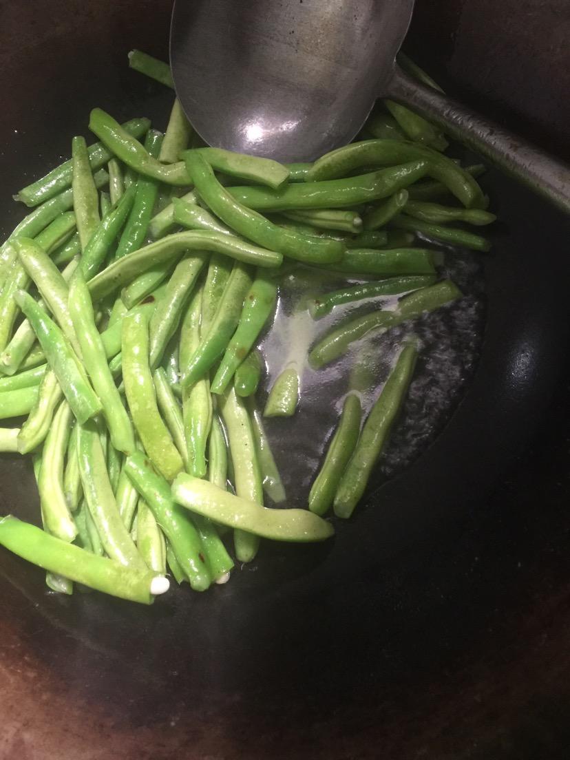 素炒四季豆角怎么做_素炒四季豆角的做法_豆果美食