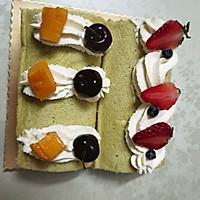 斑斕葉蛋糕的做法圖解7