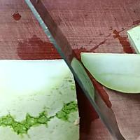 #不容错过的鲜美滋味#小炒西瓜皮的做法图解2
