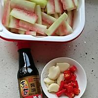 #不容错过的鲜美滋味#小炒西瓜皮的做法图解4