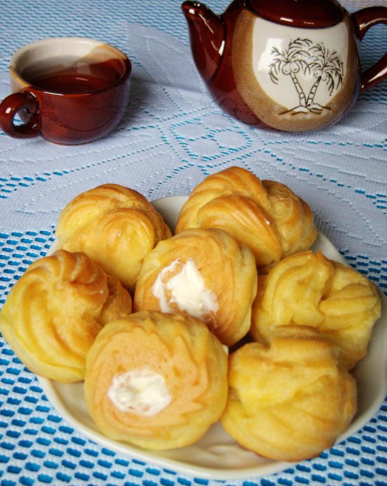 奶油泡芙的做法_【圖解】奶油泡芙怎么做如何做好吃_奶油泡芙家常做法大全_靜靜的小廚房_豆果美食
