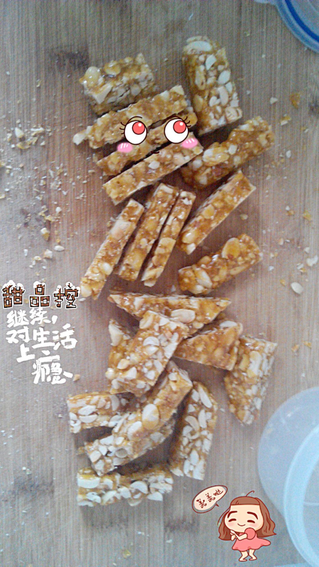 自制花生糖的做法_【圖解】自制花生糖怎么做如何做好吃_自制花生糖家常做法大全_云朵美食_豆果美食